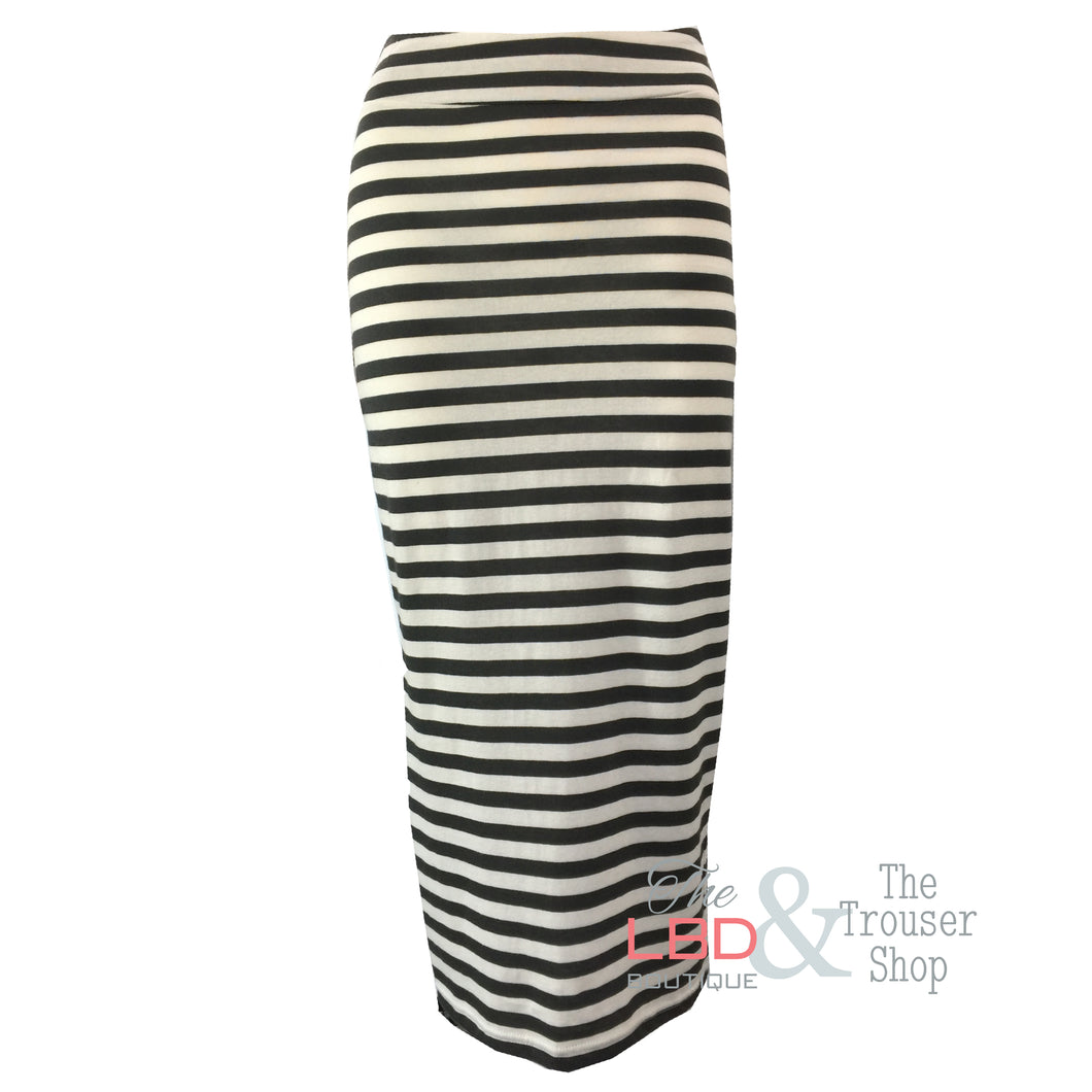 Mama B Lilla Riga Skirt in Chalkboard and White - Size XS Only | The LBD Boutique & Trouser Shop