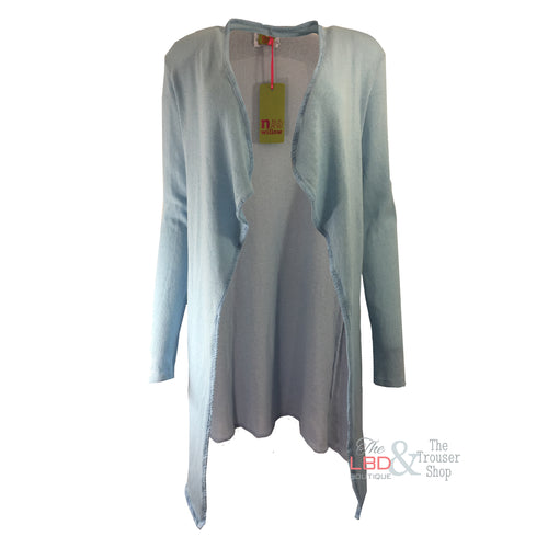 N & Willow Pale Blue Open Cardi