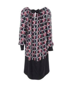 SuzyD Ribbon Tie Print Tunic Size Small Only | The LBD Boutique & Trouser Shop