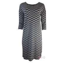 Assign 3/4 Sleeve Peacock Dress 10846 | The LBD Boutique & Trouser Shop