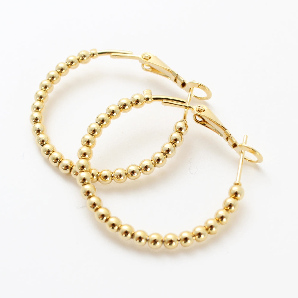Tilley & Grace Lizzy Hoop Earrings in Gold | The LBD Boutique & Trouser Shop