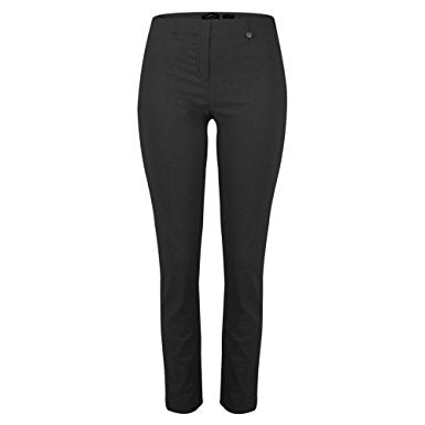 Robell Rose 09 Black Ankle Trousers | The LBD Boutique & Trouser Shop