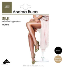 Andrea Bucci Black Silk 10 Denier Tights | The LBD Boutique & Trouser Shop