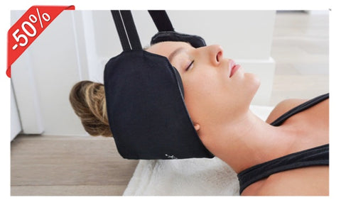 RelaxHammock, the mini portable hammock that relieves muscle tension in your neck