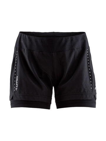 Craft Women's Essential 2-IN-1 Shorts