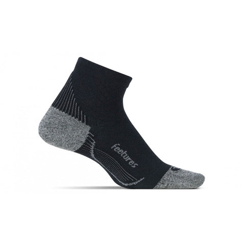 Feetures Plantar Fasciitis Relief Light Cushion Quarter Sock