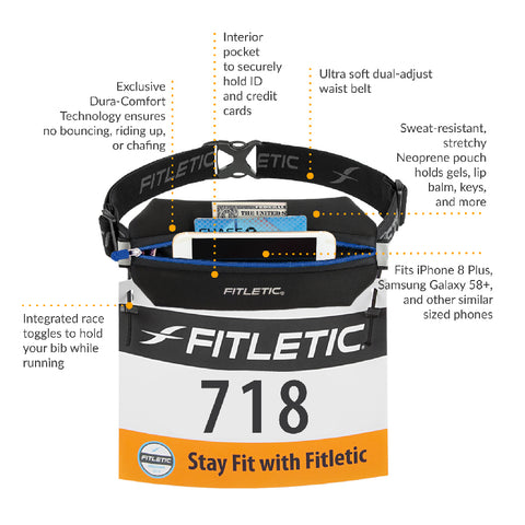 Image of Fitletic Neo Racing Running Belt Unisex