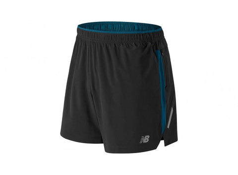 "Image of New Balance Impact 5"" Men's Running Shorts"