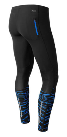 Image of New Balance Impact Print Men's Running Tight