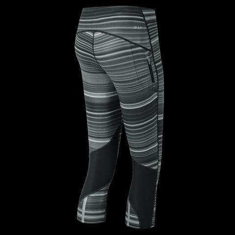 Image of New Balance Impact Printed Women's Capri