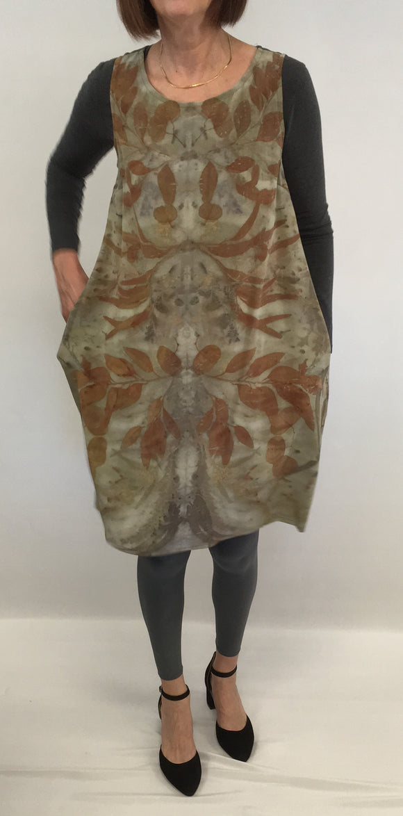 silk tunic at Sylvia Riley Designs