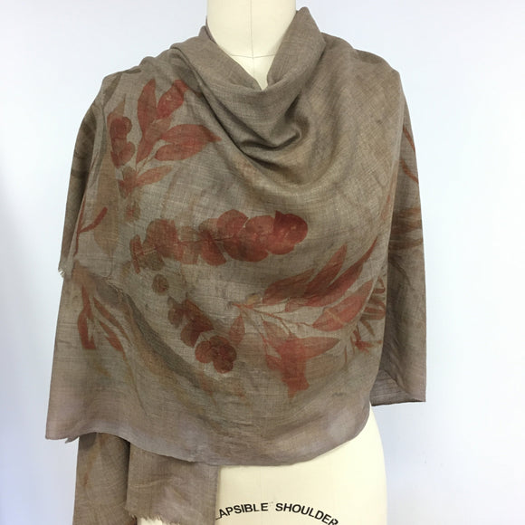 Cashmere wrap by Sylvia Riley