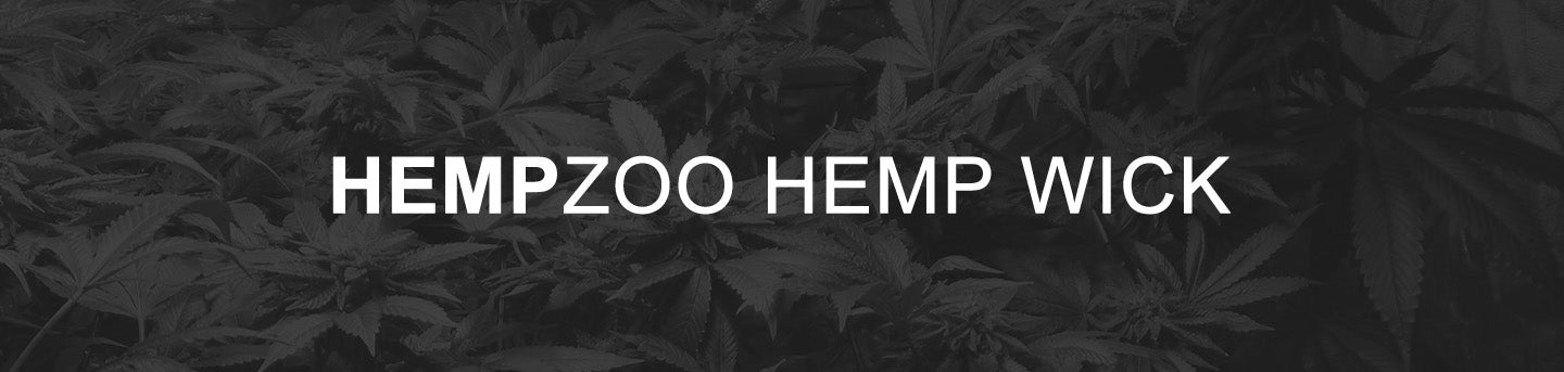 HEMPZOO natural eco friendly organic hemp wick is great for many uses. It's a multipurpose biodegradable tool that works with every household, camping trip, survival kit or emergency kit component. HZ hemp wick is made from top quality organic hemp and organic beeswax making it water resistant with a clean burning flame and natural sweet aroma.