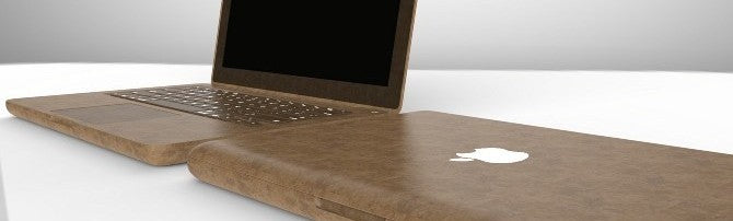 Hemp plastic macbook computer