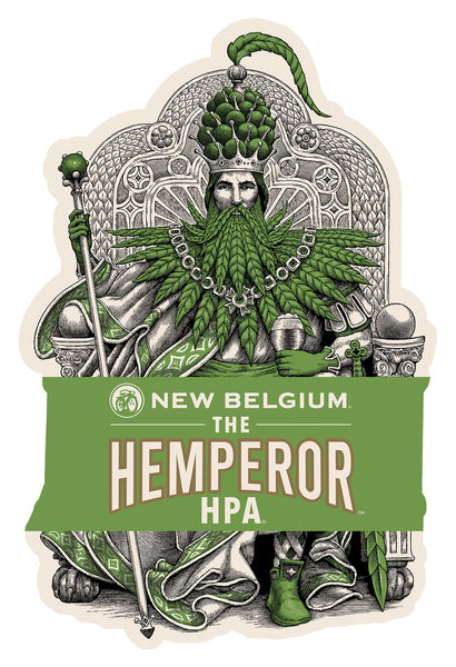 New Belgium Brewing  The Hemperor HPA hops and hemp
