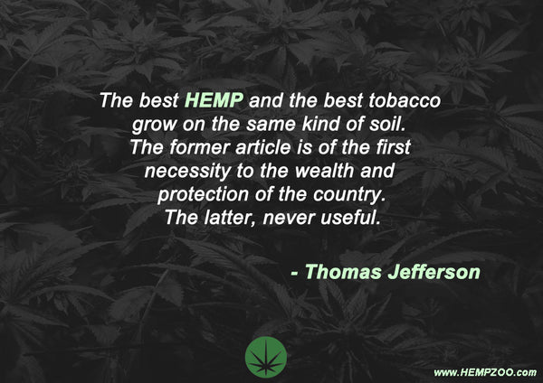 Famous cannabis hemp quotes