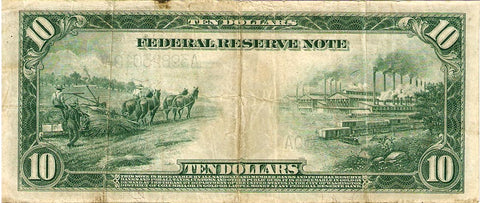 1914 10 dollar hemp bill