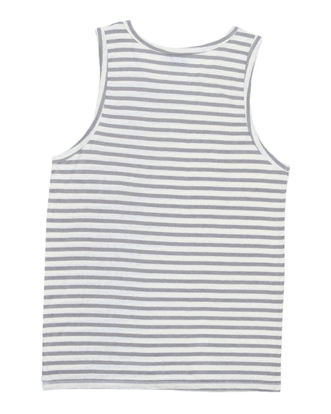 HEMP TANK TOP STONE STRIPES ARMOR - HEMPZOO Sustainable organic hemp cannabis clothing hats accessories