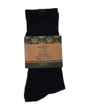 HEMP LABEL CREW SOCKS - HEMPZOO