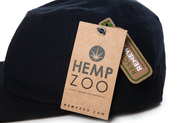 HEMP DAD CAP - HEMPZOO Sustainable organic hemp cannabis clothing hats accessories