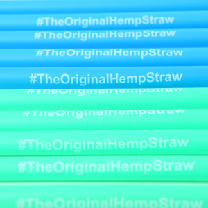 HEMP STRAWS 600pc - HEMPZOO Sustainable organic hemp clothing hats accessories