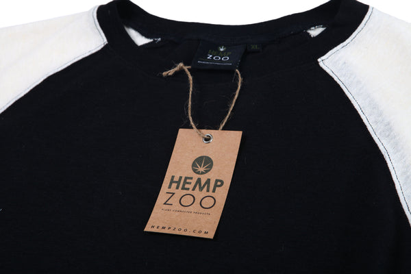 HEMP RAGLAN SWITCH ARMOR - HEMPZOO Sustainable organic hemp cannabis clothing hats accessories