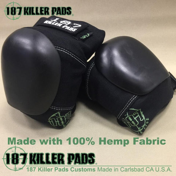 HEMP PROTECTIVE PAD SET (ELBOW & KNEE) - HEMPZOO Sustainable organic hemp cannabis clothing hats accessories