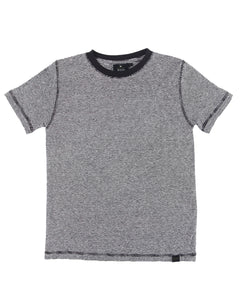HEMP KIDS MICRO STRIPE T-SHIRT ARMOR 6-12 - HEMPZOO Sustainable organic hemp clothing hats accessories
