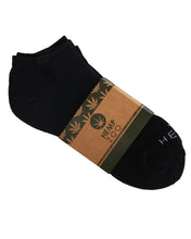 HEMP LABEL ANKLE SOCKS 2 PACK - HEMPZOO