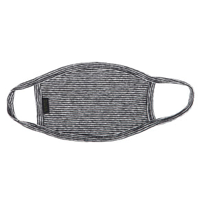 HEMP MICRO STRIPE FACE MASK - HEMPZOO