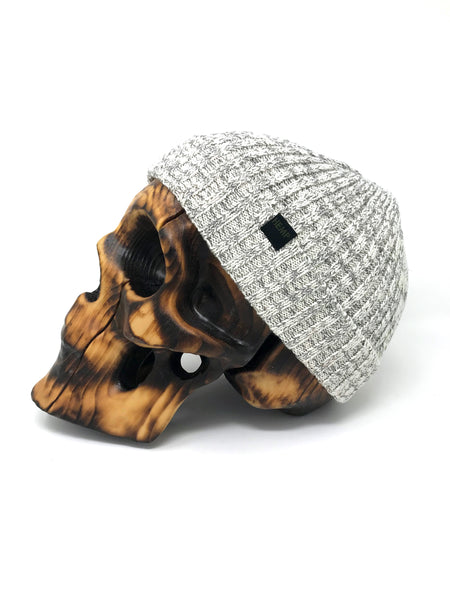 HEMPZOO HEMP SKULLY BEANIE - HEMPZOO Sustainable organic hemp cannabis clothing hats accessories