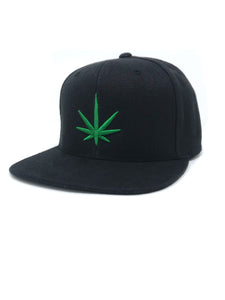 HEMPZOO GREEN LEAF KIND CAP - HEMPZOO Sustainable organic hemp cannabis clothing hats accessories