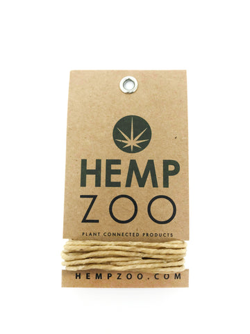 HEMP WICK CARD - HEMPZOO Sustainable organic hemp cannabis clothing hats accessories