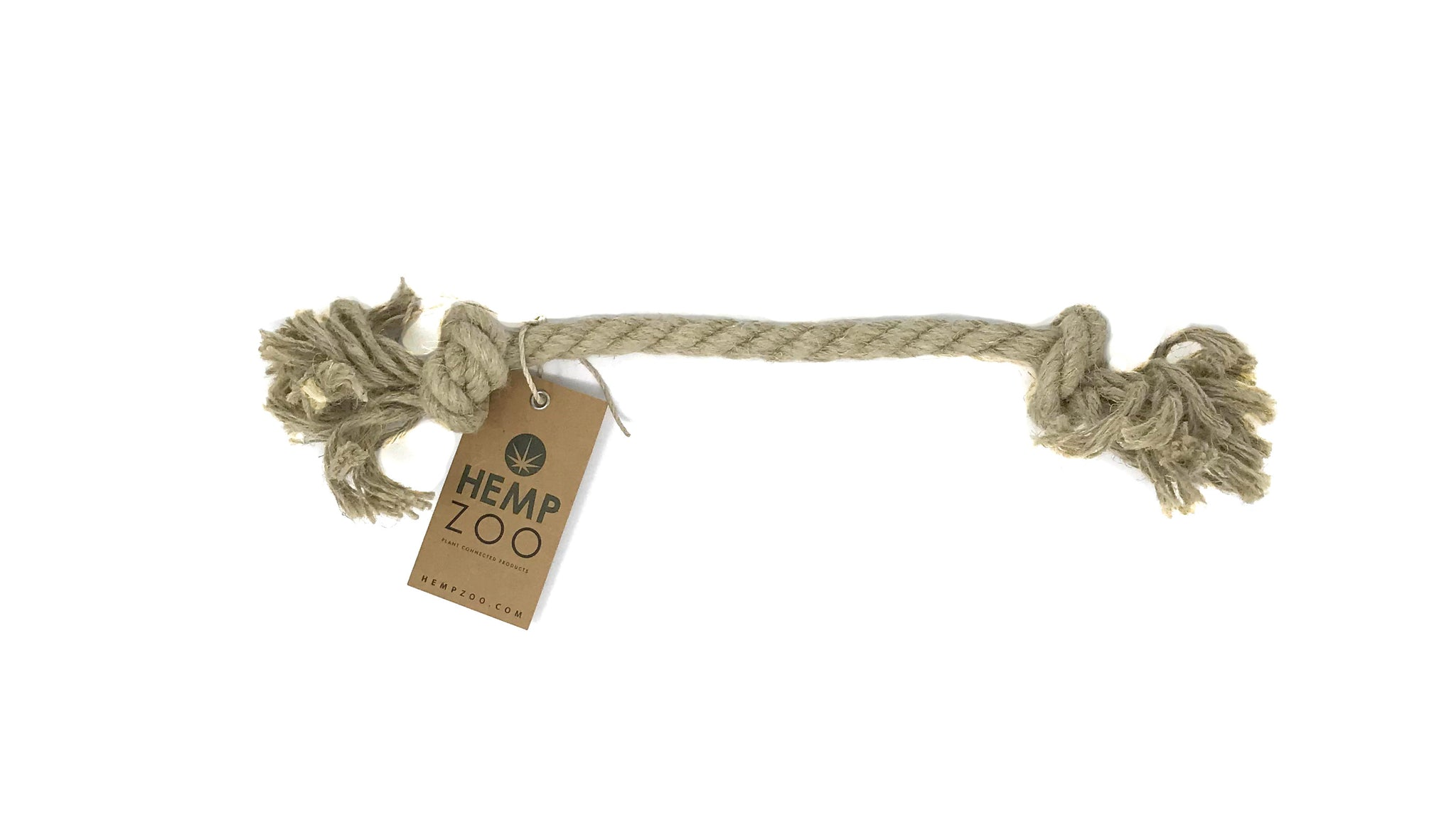 HEMP ROPE DOG TOY - HEMPZOO Sustainable organic hemp cannabis clothing hats accessories