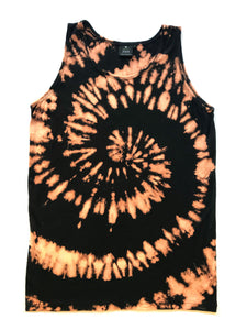 HEMPZOO Spiral Tie Dye hand dyed in the USA Hemp Zoo organic hemp clothing in california Organic Eco-Friendly Sustainable Cannabis fashion hemp
