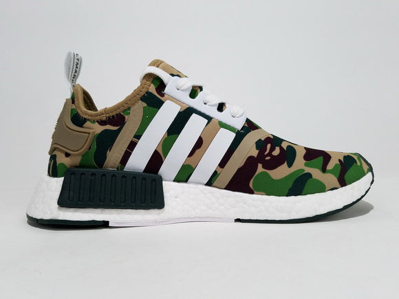 KEEVIN Adidas NMD X BAPE casual shoes