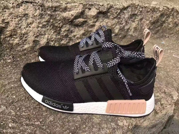 KEEVIN Adidas NMD Runner black pink running shoes