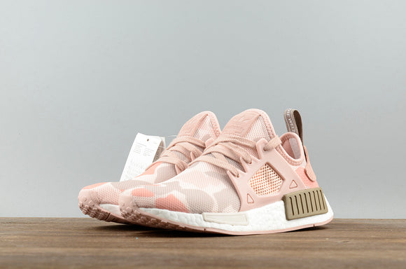 KEEVIN Adidas NMD XR1 Pink Camo Boost pk running shoes