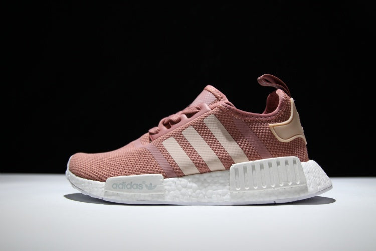 sports shoes 44c21 11fea KEEVIN Adidas NMD R1 Boost Pink runner shoes