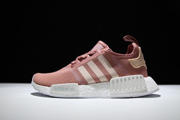 KEEVIN Adidas NMD R1 Boost Pink runner shoes