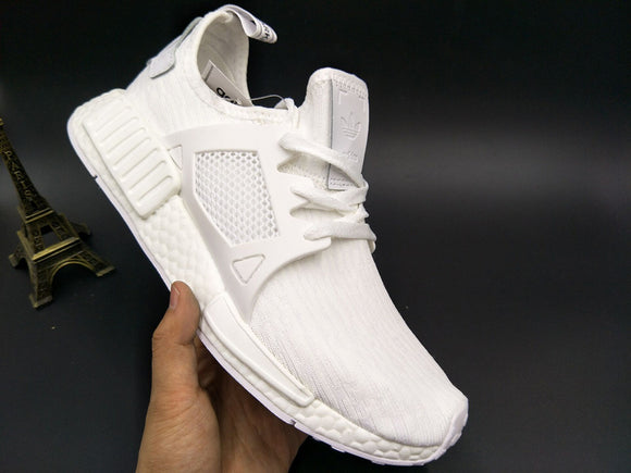 KEEVIN Adidas NMD XR1 White Boost pk running shoes
