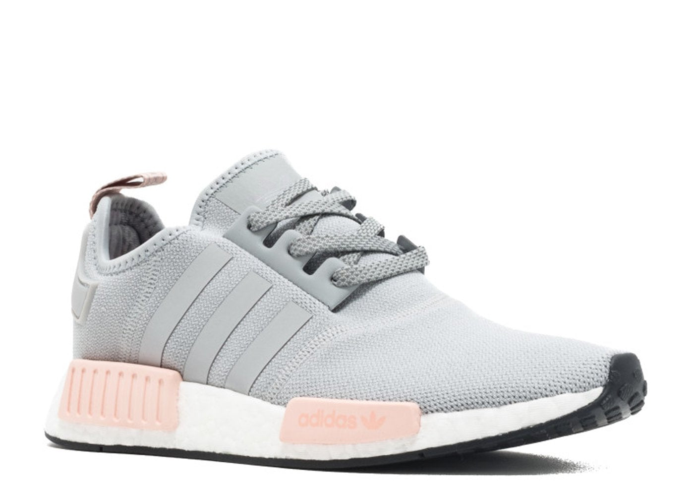 KEEVIN Adidas NMD r1 raw gray pink women's casual shoes ...