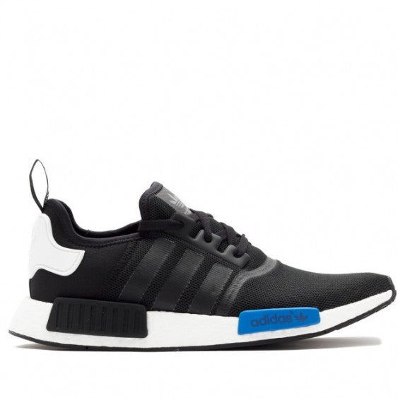 KEEVIN Adidas NMD Runner black blue running shoes