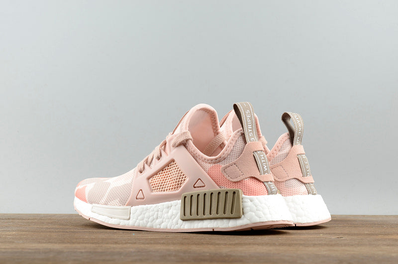 the best attitude 2bcac 88add KEEVIN Adidas NMD XR1 Pink Camo Boost pk running shoes