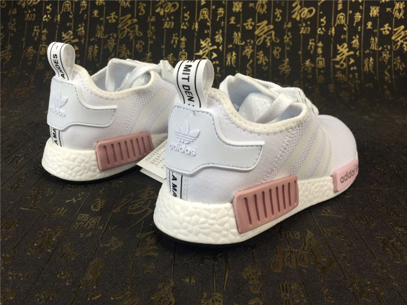 6ad01bea5ed6d KEEVIN Adidas NMD Runner white pink running shoes – Keevin store