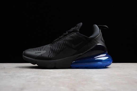 Keevin Nike Air MAX 270 Black/blue Running Shoes AH8050-009
