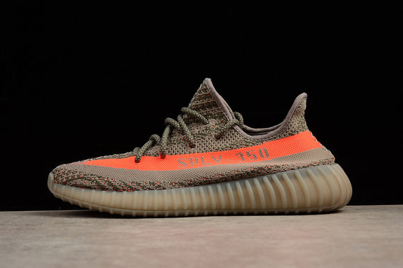 Adidas Yeezy 350 Boost V2 grey/orange shoes