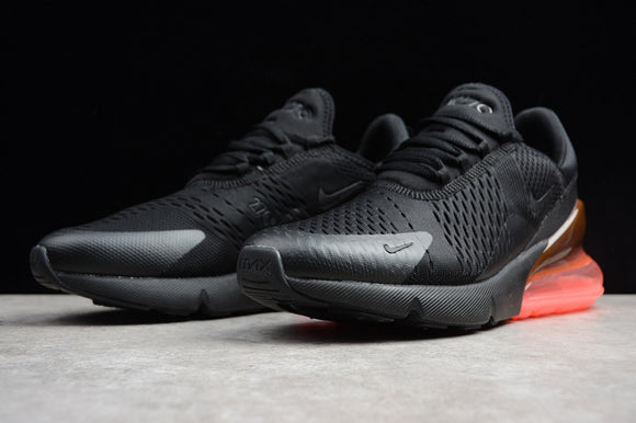 Keevin Nike Air MAX 270 Black/orange Running Shoes AH8050-010