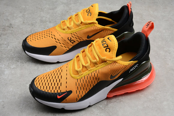 Keevin Nike Air MAX 270 Orange/Red Running Shoes AH8050-004