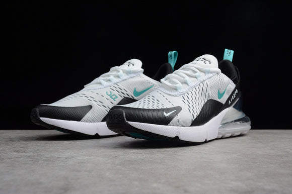 Keevin Nike Air MAX 270 white/black Casual Cushion Running Shoes AH8050-001